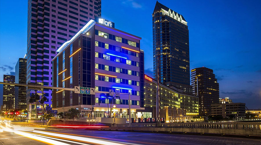 Aloft Tampa Downtown   Adaptive Reuse Hotel in Tampa, FL